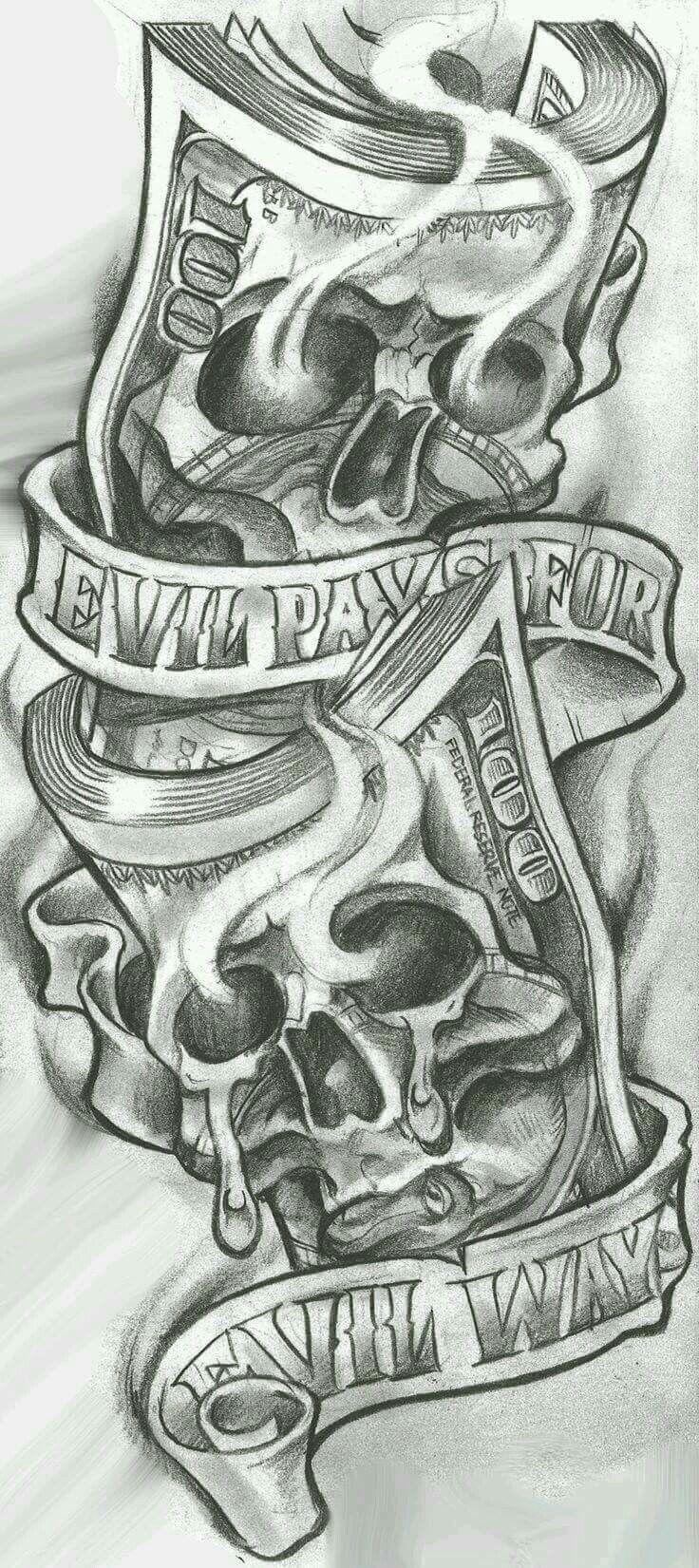 """Evil Pays for Evil Ways """