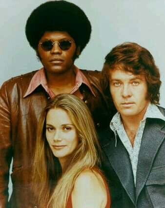 Peggy Lipton, Clarence Williams III, & Michael Cole in The Mod Squad
