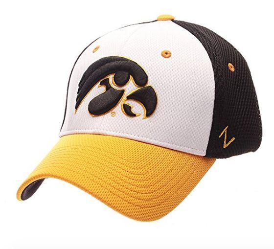 Iowa Hawkeyes Kickoff Flex Fit Hat By Zephyr