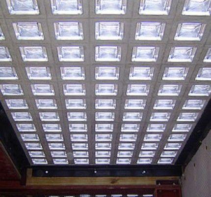Glass Block Roof Lights