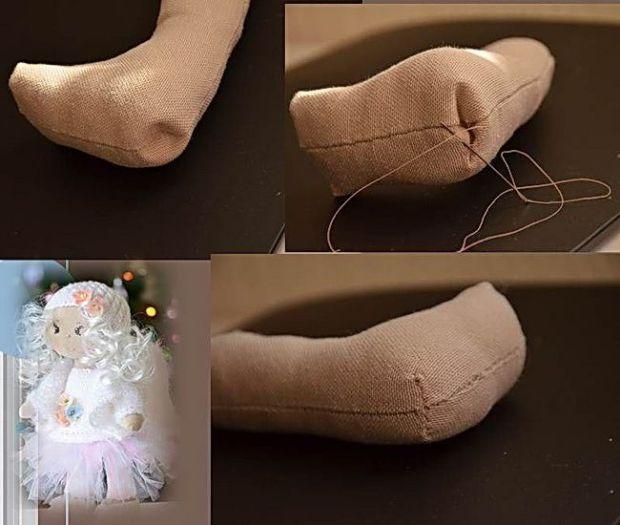padrão DIY e mesmo para diferentes bonecas de pano - Padrões grátis