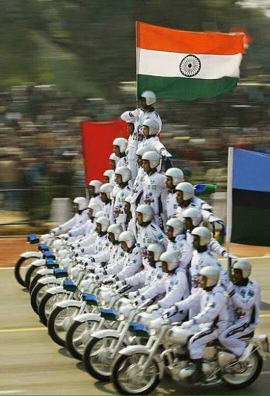 Army Parade, New Delhi, India