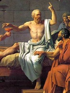 1. Socrates taught by asking his students questions and inducing his listeners to answer which challenged their beliefs.
