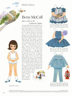 Betsy McCall Paper Dolls.