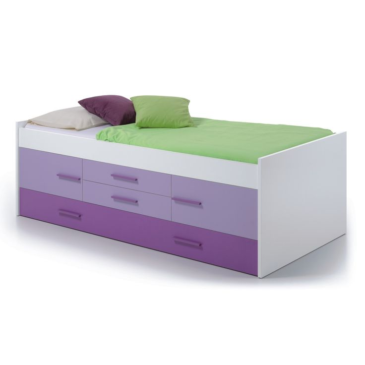 The iPlay 3' Single Trundle Cabin Bed features a single bed with 2 spacious drawers, 2 cabinet doors and a handy pull-out trundle bed underneath, perfect for sleepovers, no more building temporary beds with piles of duvets! The pull-out bed can alternatively be used as extra storage, an ideal place for bedding.