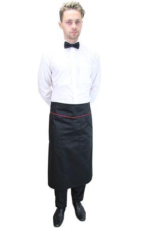 Ρουχα Εργασιας,  φορμες εργασιας Περιγραφή:  Ποδιά σερβιτόρου μισή με φιτίλι (ΚΩΔ.:1N1023)