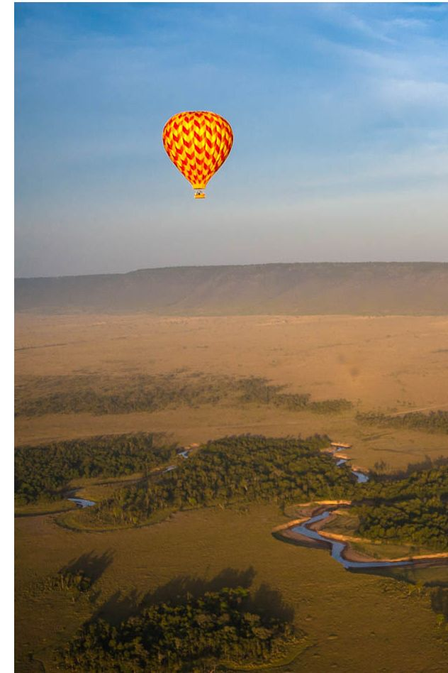 June conditions are ideal for hot air ballooning in the Western Corridor of the Serengeti. The throngs of wildebeest and other antelope are present and preparing to move north across the crocodile-infested Grumeti River and into the Mara. Have your cameras at the ready, as hundreds of wildebeest risk life and limb in the pursuit of the grassy plains of the Maasai Mara in Kenya. A fantastic way to beat the crowds, with a birds-eye view of the action. Timbuktu Travel