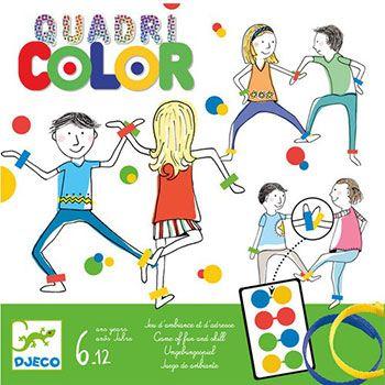 Djeco Επιτραπέζιο παιχνίδι «Ο χορός χρωμάτων»