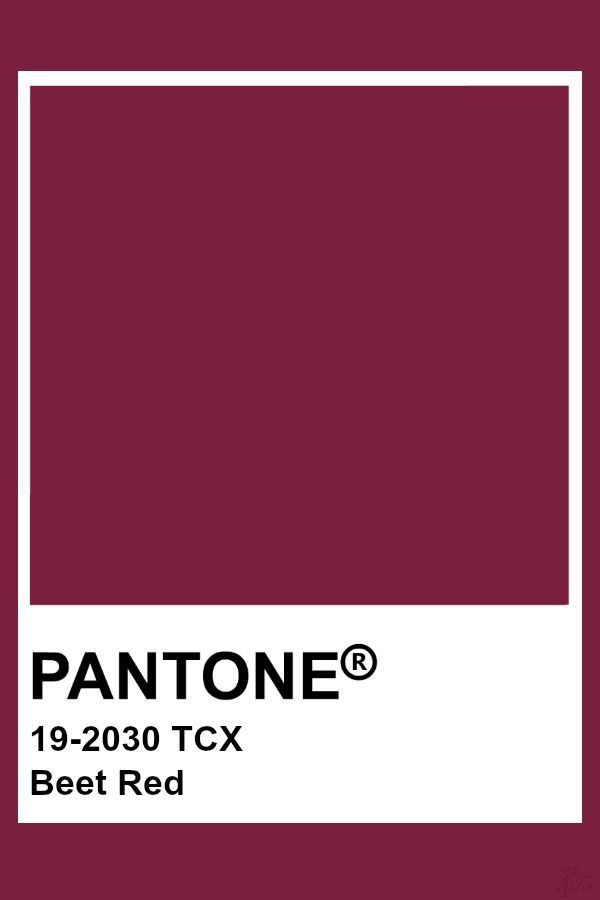 Pantone Beet Red Pantone Colour Palettes Pantone Color