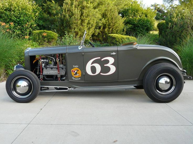 32 highboy with a flathead V8 Antique cars, Custom cars