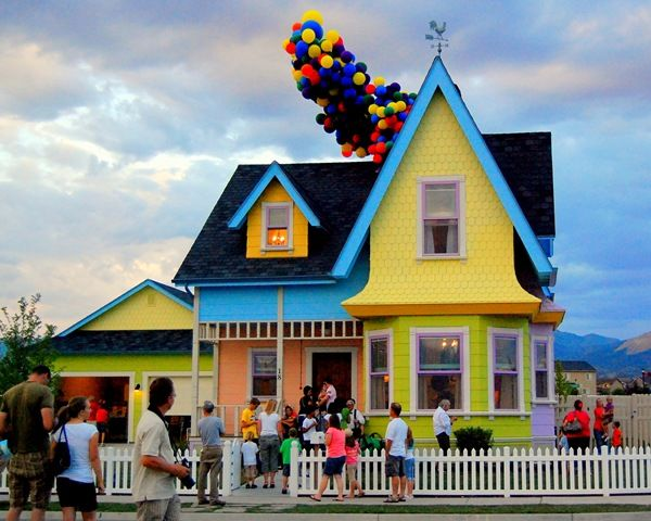 Pinner: Real Life UP house in Salt Lake City, Utah!! Need to see this Me: what?! I live 30 minutes from SLC how did I not know about this?!