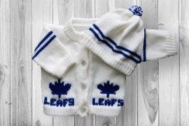 Toronto Maple Leafs Baby Sweater