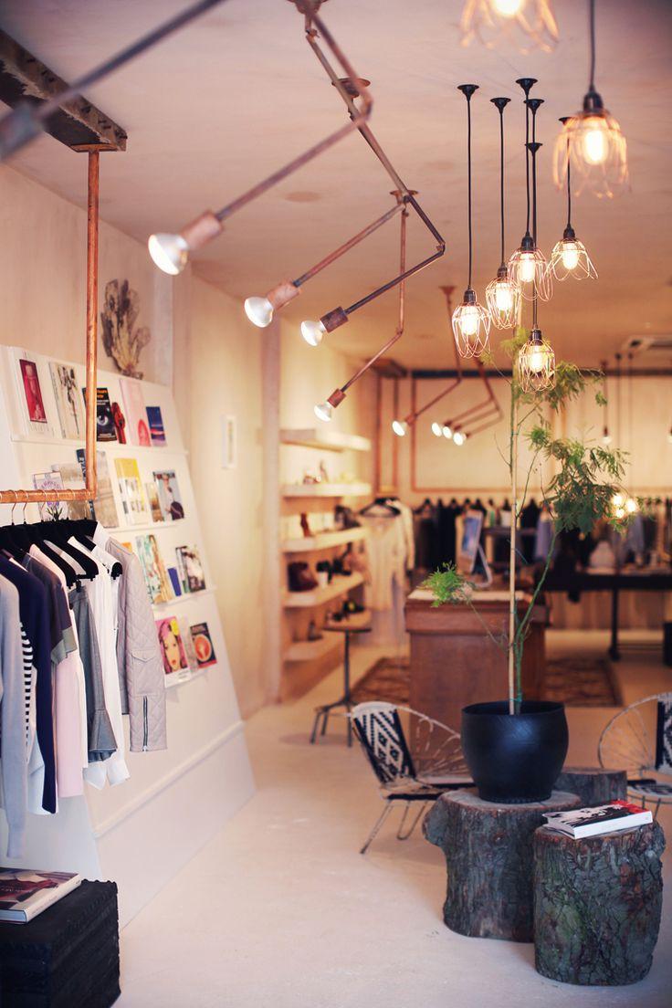 Lights shop fittingsinterior shopinterior designcommercial lightingstore