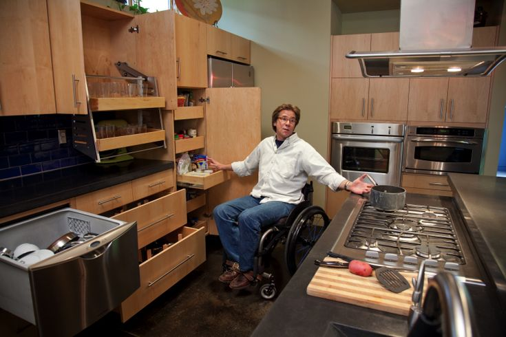 30 best images about universal design on pinterest for Kitchen design for wheelchair user