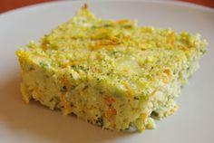 kivi: Zapečený brokolicový kuskus s mozzarellou