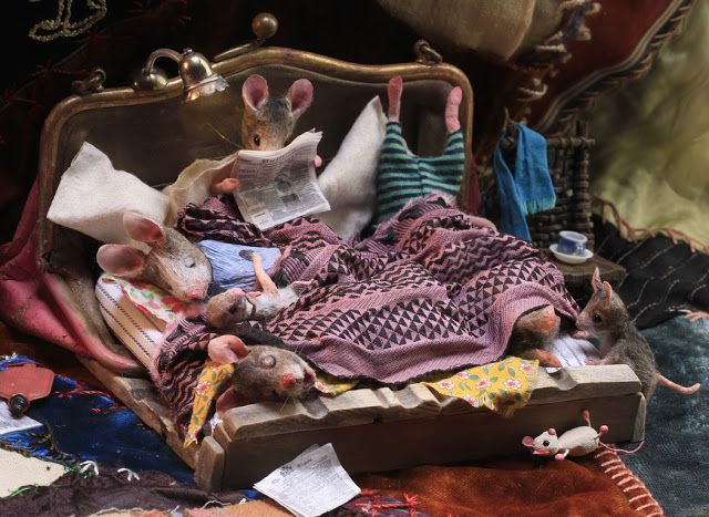 MousesHouses: the relatives visited