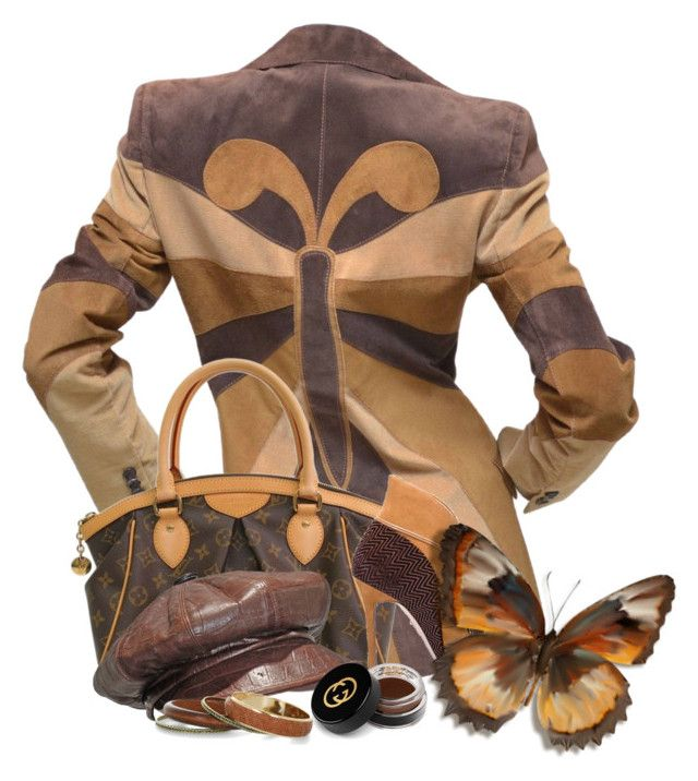 Butterfly Fashion by flowerchild805 on Polyvore featuring polyvore, fashion, style, Chelsea Paris, Louis Vuitton, Christian Dior, Gucci and clothing