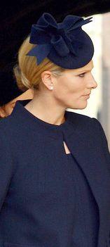 Zara Phillips, October 23, 2013 in Rachel Trevor Morgan | The Royal Hats Blog