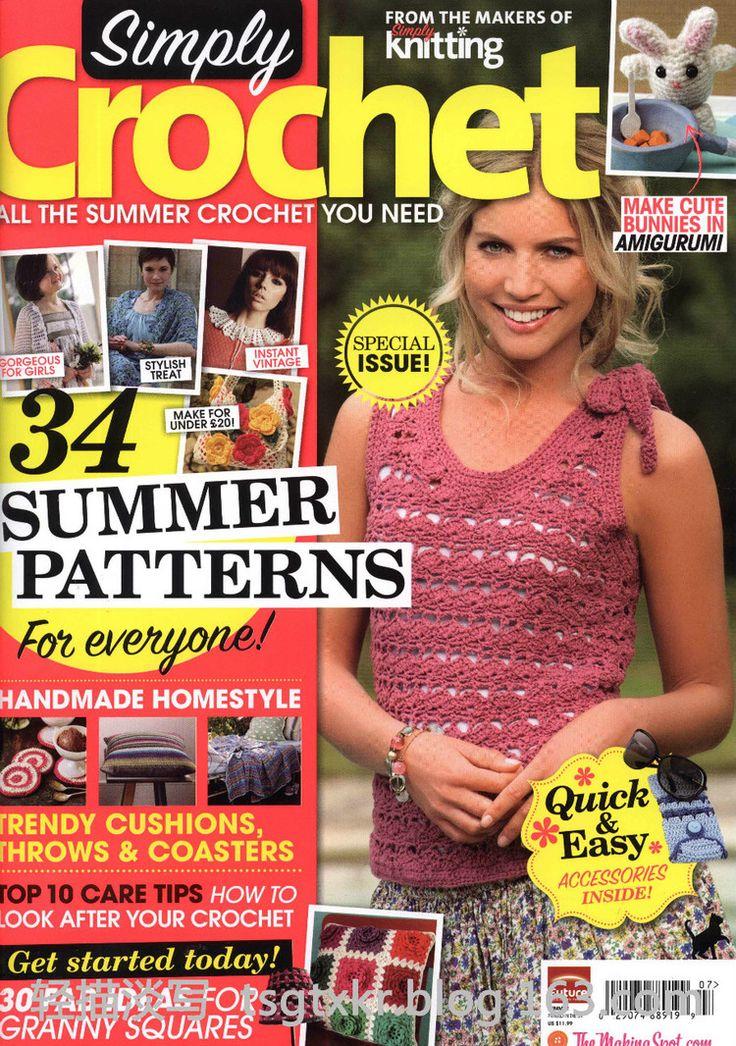 Simply Crochet - Summer 2012 - 轻描淡写 - 轻描淡写