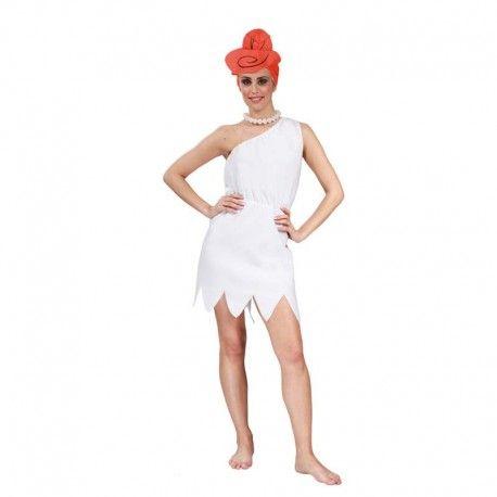 Disfraces Personajes mujer | Disfraz de Wilma picapiedra. ¡Yabba Dabba Doo! Contiene vestido, collar y peluca de tela.Talla M. 15,95€ #Picapiedra #WilmaPicapiedra #disfrazpicapiedra #disfrazWilmapicapiedra #disfraz #disfrazpersonaje #disfraces