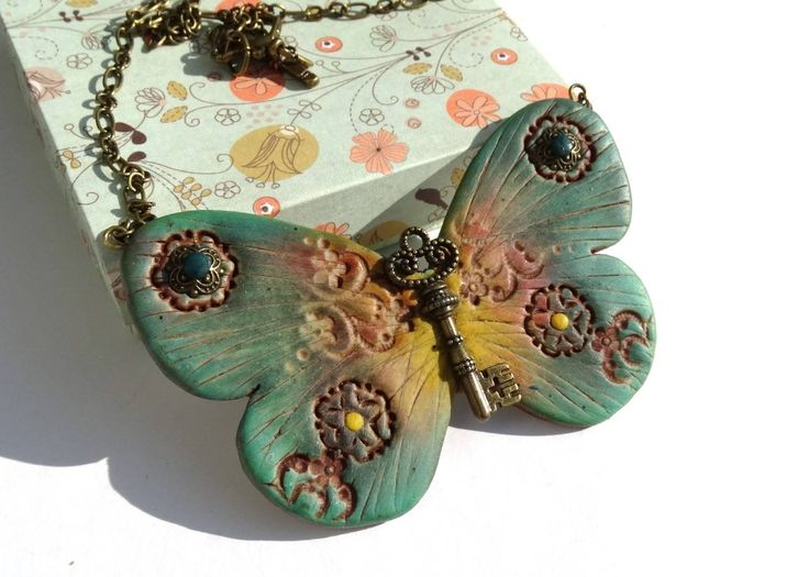 polymer clay and pastels