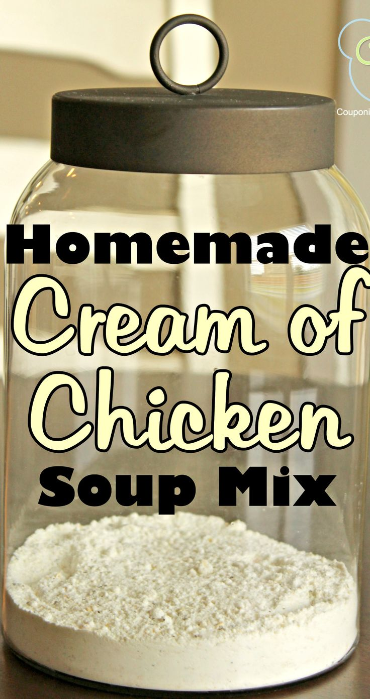Homemade Cream of Chicken Soup Dry Mix Recipe