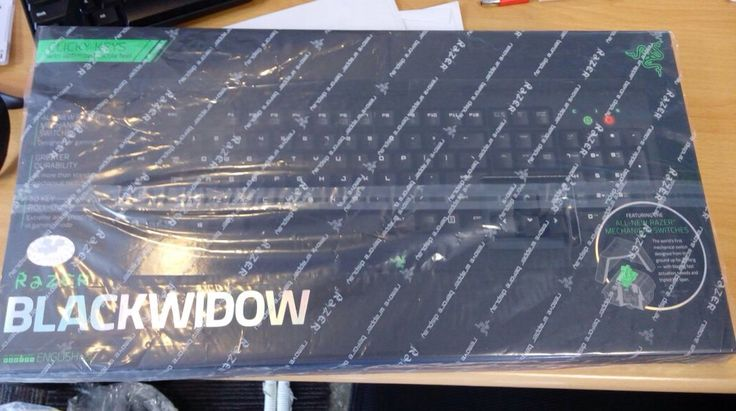 Razer Blackwidow Sealed