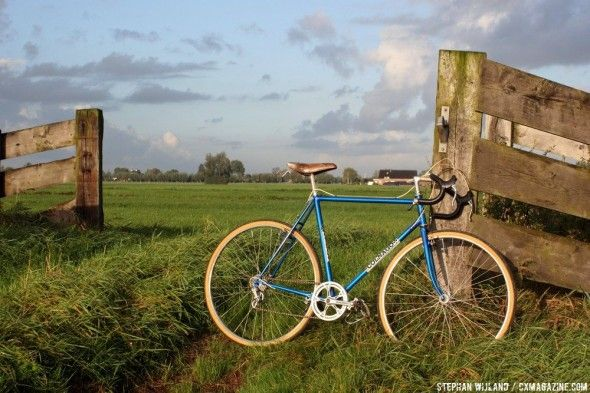 Roger De Vlaeminck's custom 1975 Colnago cyclocross bike