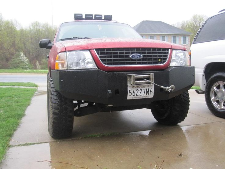 "Winch Bumper - Ford Explorer and Ranger Forums ""Serious ..."