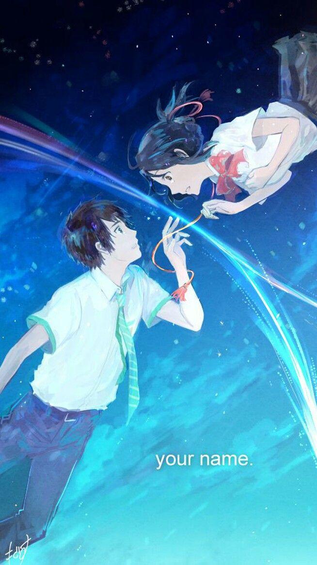 Anime Kimi No Na Wa Your Name Wallpaper Lockscreen Hd Fondo