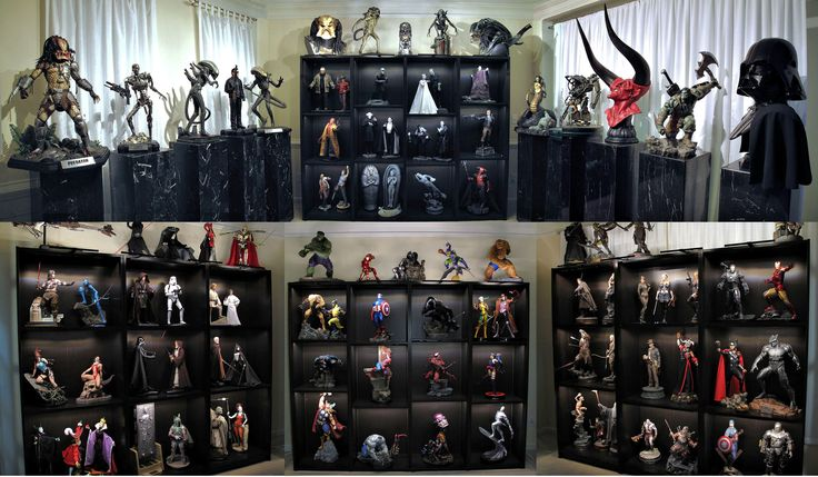 17 best images about display case ideas on pinterest hot for Hot toys display case ikea
