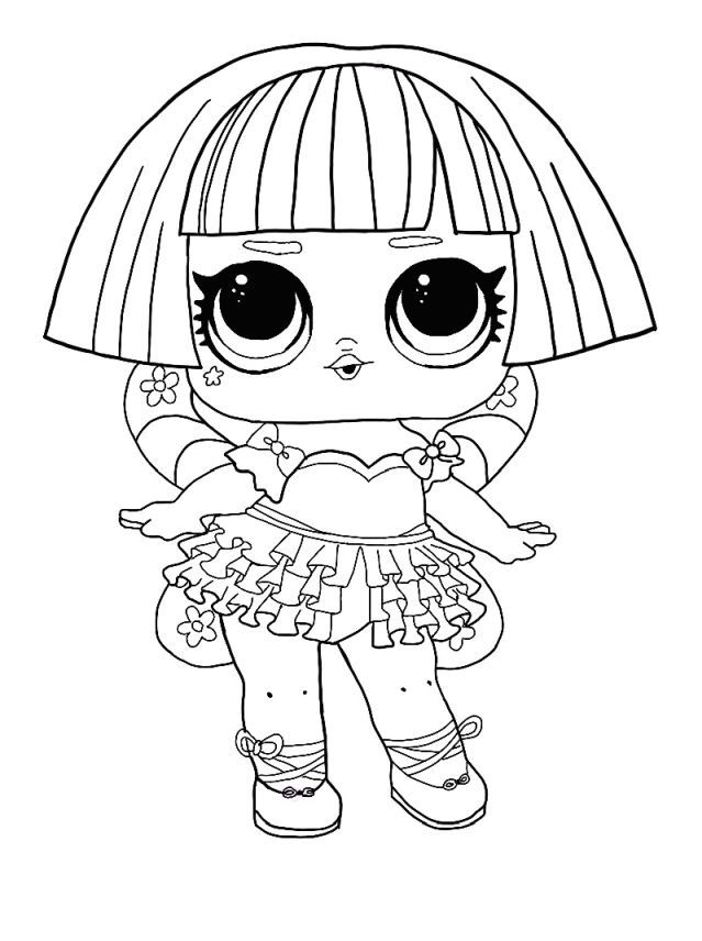 Lol Surprise Winter Disco Coloring Pages Free Coloring Pages Coloring1 Com In 2020 Coloring Pages Winter Lol Dolls Star Coloring Pages