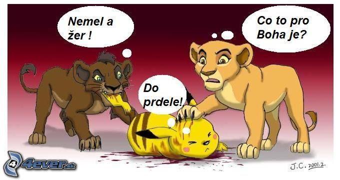Pokémon a Lví král ;)
