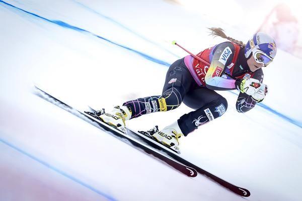 US downhill skier Lindsay Vonn, Olympic & World Champion
