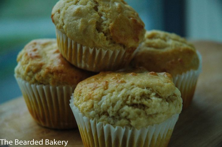 Marmite and Cheese Muffins - The Bearded Bakery
