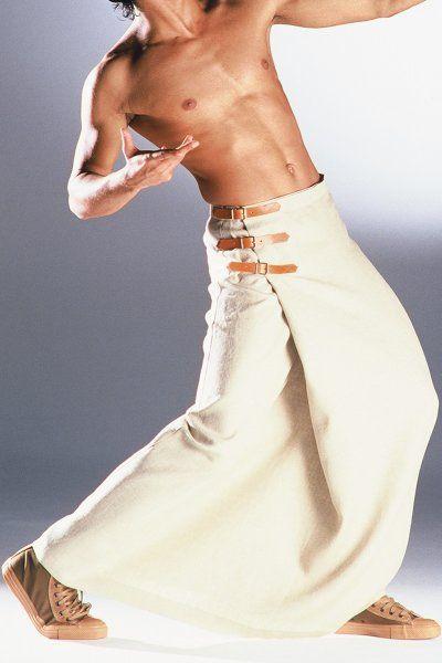 Männerrock Athen lang -- AndersLandinger - Männerrock - Röcke für Männer - Skirts for Men - Menskirt - Herrenrock - Jupe Hommes