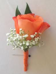 Image result for coral boutonniere