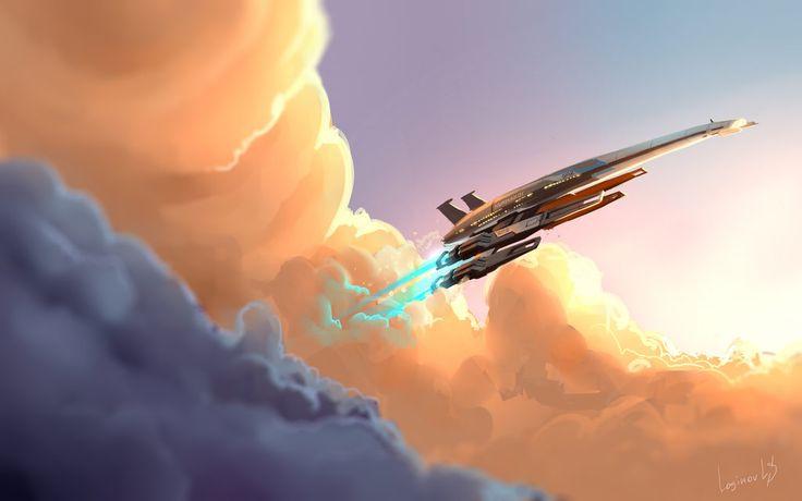 Normandy SR2  - Mass Effect by LoginovLS.deviantart.com on @DeviantArt