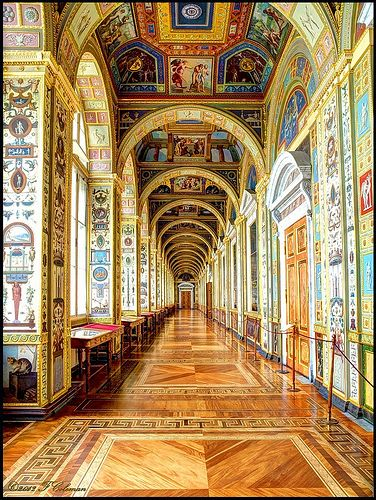 The Winter Palace now The Hermitage Museum, St Petersburg, Russia