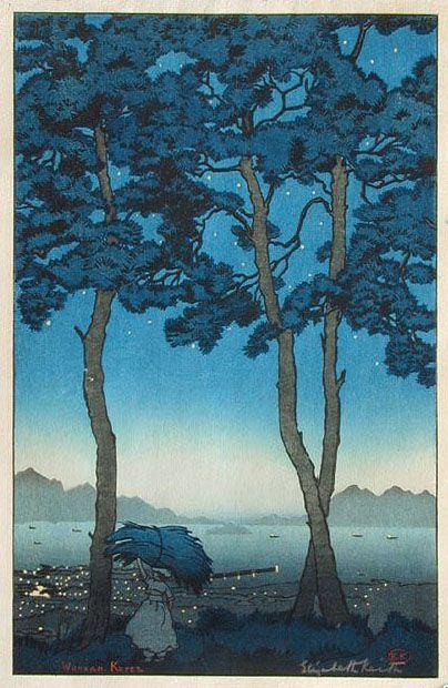 hanga gallery . . . torii gallery: Wonsan, Korea by Elizabeth Keith
