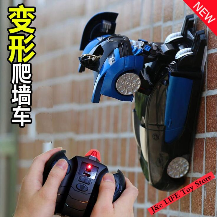 RC Toy Car Model Deformation Robot Transformation Remote Control Car Wall Climb Stunt rc Car Toys For Children Gifts