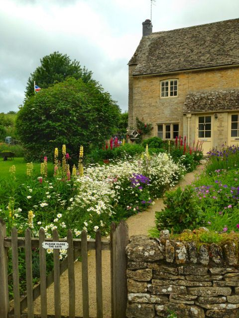 Upper Slaughter Cottage Garden, Cotswolds, UK Perfect!!