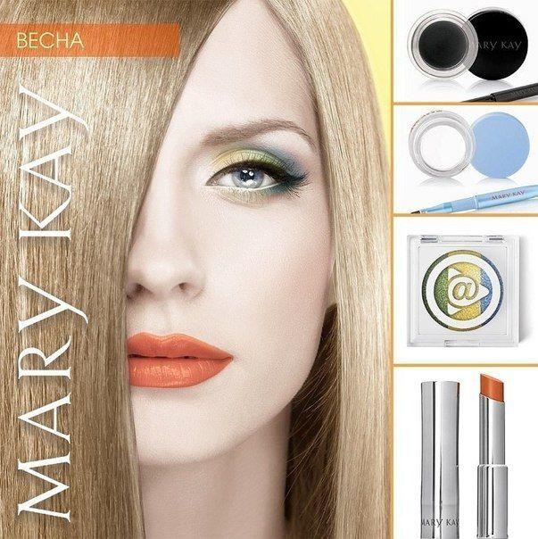 макияж по цветотипу мэри кей - 12