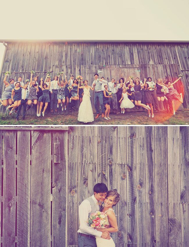 big wedding parties are so fun!