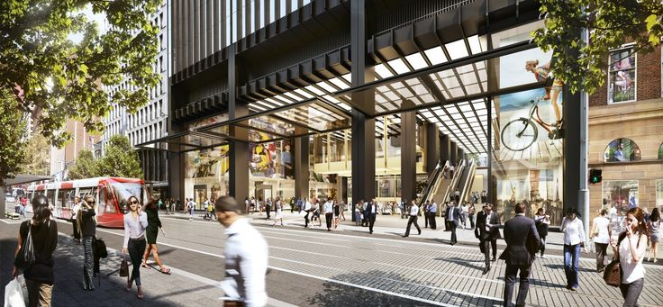 Make Architects Picked for Sydney's Wynyard Station Overhaul