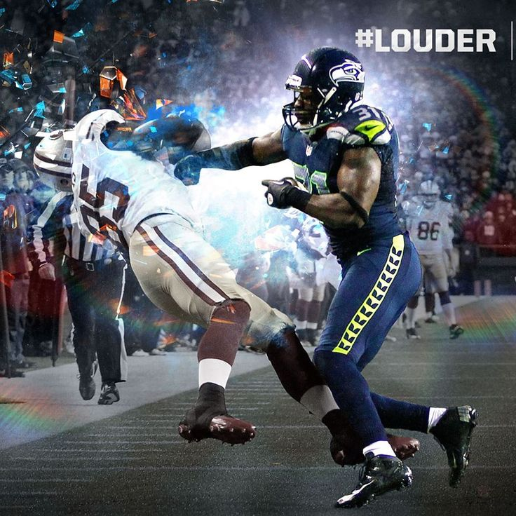 "Seahawks! My all time favorite hit by Kam ""Bam Bam"" Chancellor"