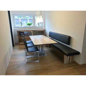 die besten 25 esstisch bank ideen auf pinterest bank f r k chentisch bauernhaus tisch mit. Black Bedroom Furniture Sets. Home Design Ideas