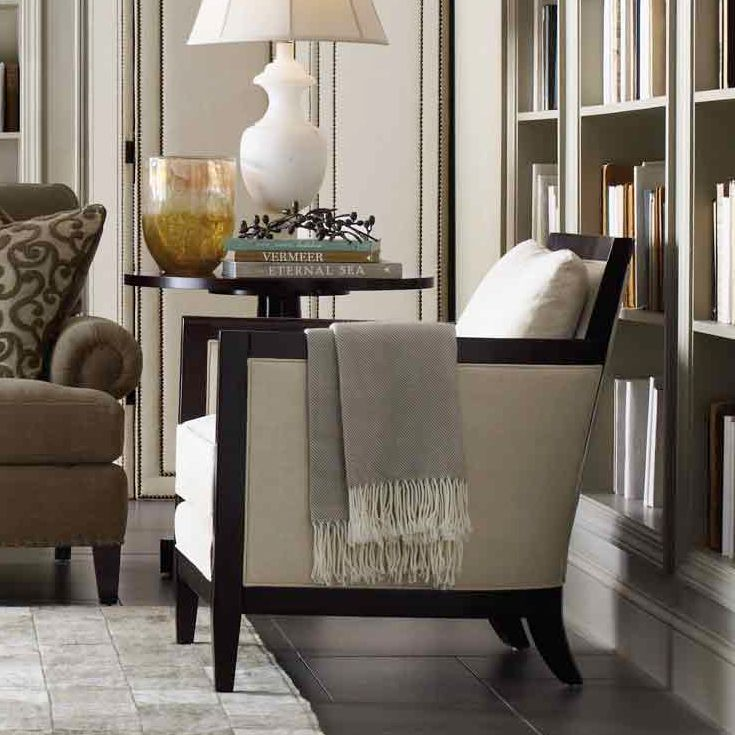 Nice Ian Chair In White | Bernhardt Chairs | Pinterest | Chairs, Php And Ivory  Living Room