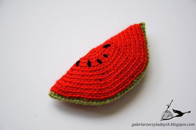 3 CYKLICZNE SZYDEŁKO - Jak zrobić arbuza?  #cykliczneszydełko #DIY #tutorial #crochet #szydełko #handmade #fruit #arbuz