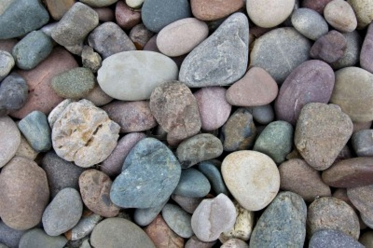 9 best images about river rock on pinterest landscaping for Smooth river rocks for landscaping